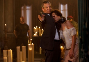 Eric Roberts & Giselle Itie